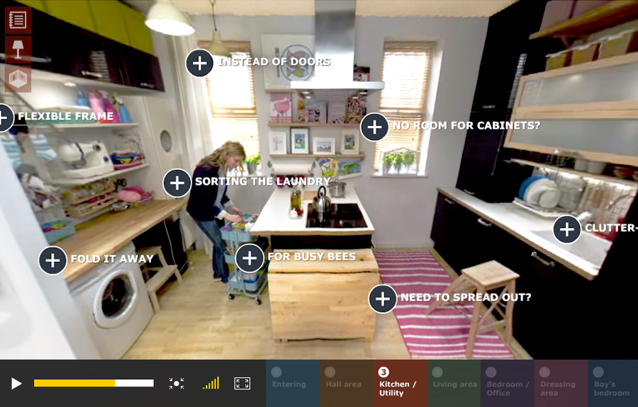 Make Small Spaces Big 360 with IKEA - Van West Media